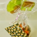 Caramel-Apple Lollipops