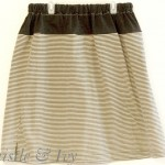 T-shirt into Comfortable Skirt Tutorial