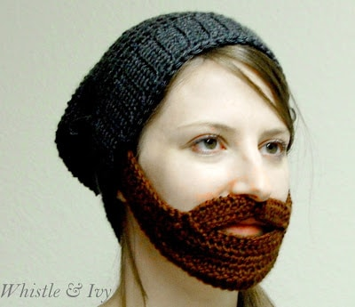 Barba Beanie Crochet Pattern Whistle And Ivy