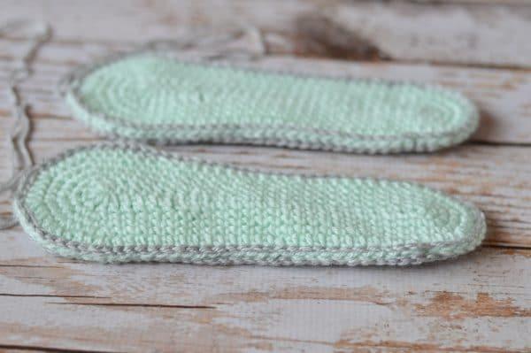 Women U0026 39 S Loafer Slippers Crochet Pattern