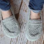 Women's Loafer Slippers Crochet Pattern