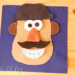 Mr. Potato Head Quiet Book Page