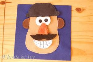 Mr. Potatohead Quietbook Page