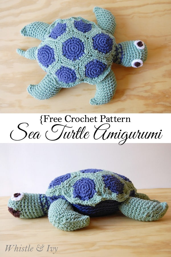Sea Turtle Crochet Blanket Pattern Free Crochet Pattern Sea