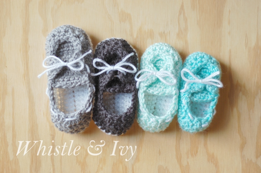 Baby Boat Booties - Whistle and Ivy