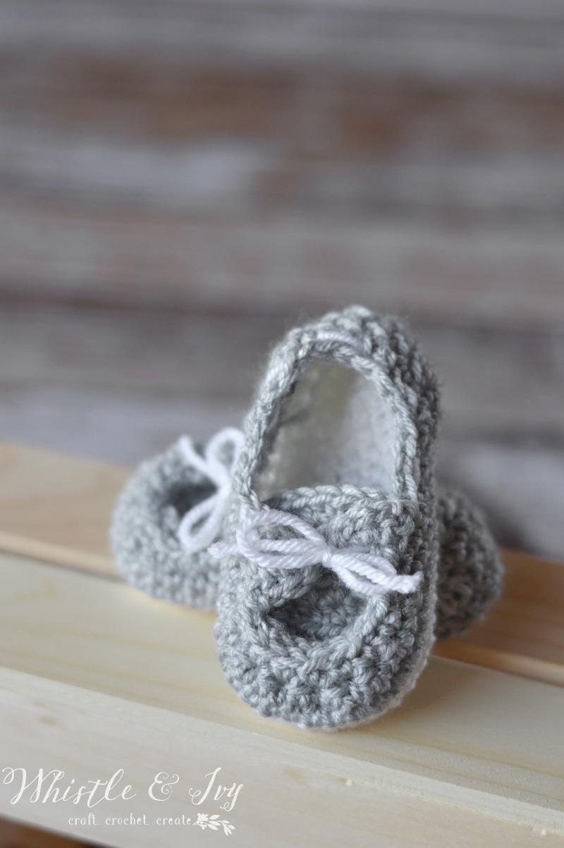 Crochet Mary Janes For Baby Free Crochet Pattern