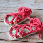 Crochet Baby Gladiator Sandals – Free Crochet Pattern