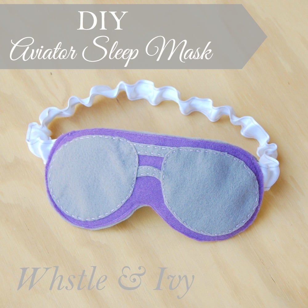 Sleep in style with these this classy aviator-style sleep mask.