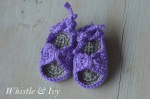 Bitty Bow Sandals