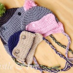 Button Eskimo Baby Hat
