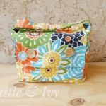 Incredibly Easy Lined Camera Bag with Upcycled Crib Bumpers and Facebook Contest!