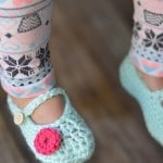 Toddler Little Dot Mary Janes Slippers