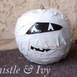 Duck Tape® Mummy Jack-O-Lantern #StickOrTreat & Contest