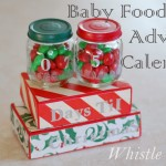 Baby Food Jar Christmas Advent Calendar
