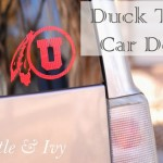 Duck Tape Car Decal