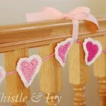 Bubble Heart Crochet Garland Pattern