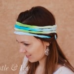 Ombre Four-Strand Head Wrap