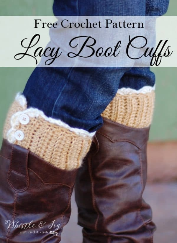 Lacy Boot Cuffs - Whistle and Ivy