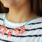 Duck Brand® Washi Tape Banner Necklace