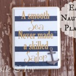 Smooth Sea Nautical Plaque