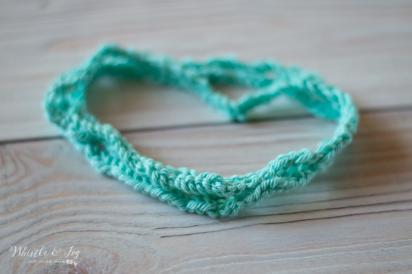 stretchy boho crochet headband free crochet pattern