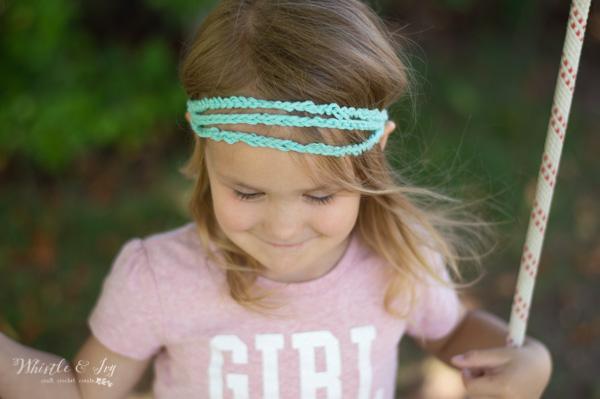 free crochet pattern boho headband