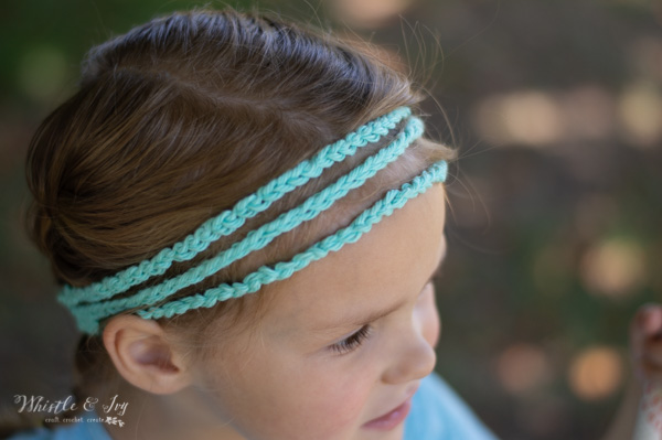 free crochet pattern for braided boho headband
