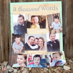 A Thousand Words Photo Display Board
