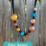 Solar System Chunky Necklace
