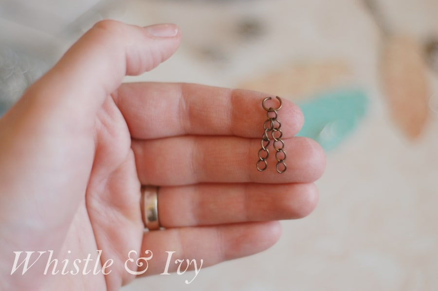 These beautiful and elegant feather earrings are easy to make with the Silhouette and so fun to wear. {Whistle and Ivy}
