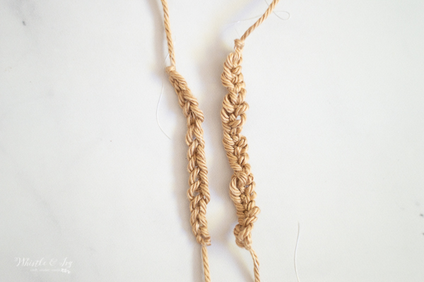 stretchy yarn with elastic crochet how to