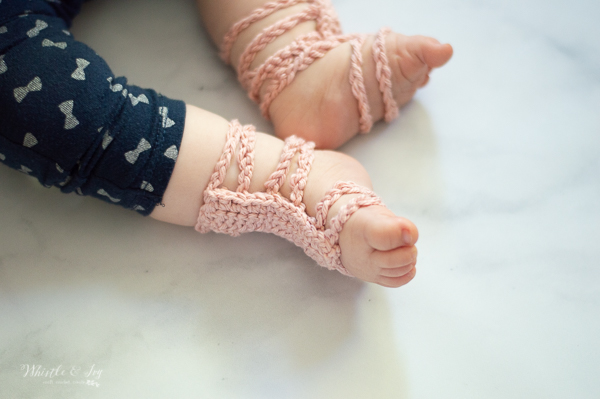 stretchy crochet baby barefoot sandals gladiator barefoot sandals free crochet pattern