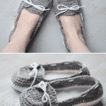 Women's Crochet Boat Slippers – Free Crochet Pattern
