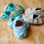 Sewing Toms-Inspired Baby Shoes
