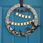 Swarm of Bats Wreath