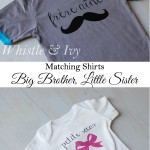 Matching Little Sister, Big Brother Shirts