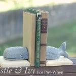 {Anthro Knock-off} Whale Book Ends