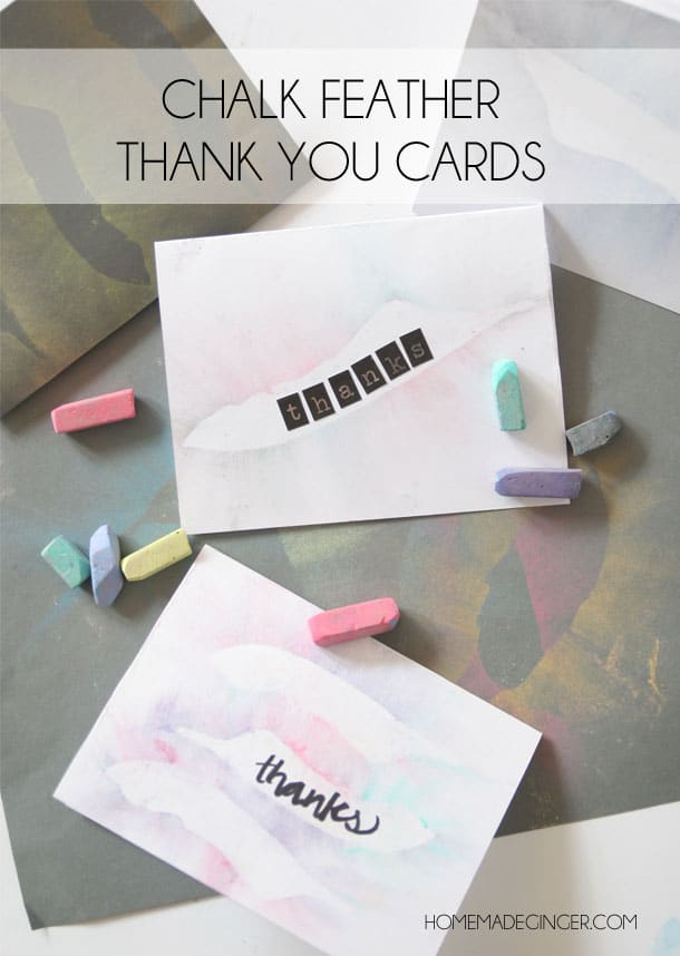 CHALK FEATHER CARDS
