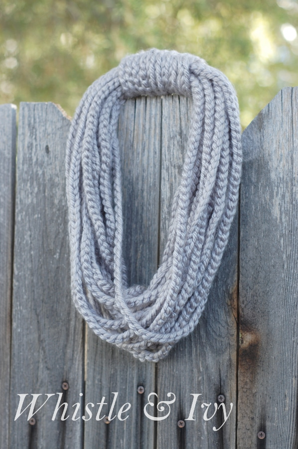 simple chain infinity scarf one artsy