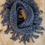 Chunky Fringe Scarf Crochet Pattern