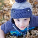 Toddler Trapper Hat Free Crochet Pattern