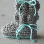Baby Bubble Booties – Free Crochet Pattern