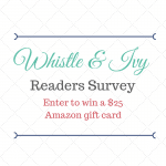 Readers Survey and Amazon Gift Card Giveaway