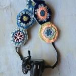 Crochet Hexagon Camera Strap