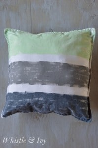 Hand Painted Pillow