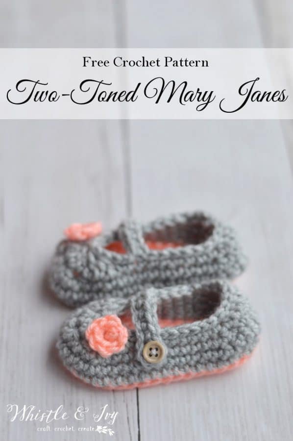 Two-Toned Little Dot Mary Janes - Whistle and Ivy