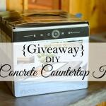 Encore Countertop Kit Giveaway