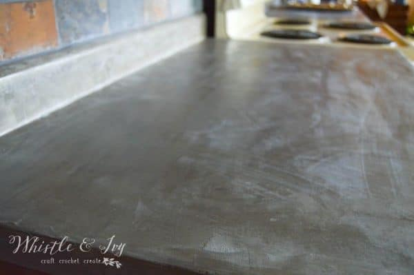 Concrete Countertops over Existing Laminate - Don't rip out your laminate, update them over the weekend with this concrete kit. Do it yourself!