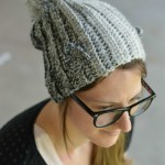 Timber Wolf Slouchy Hat