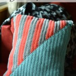 Crochet Geo Stripe Pillow